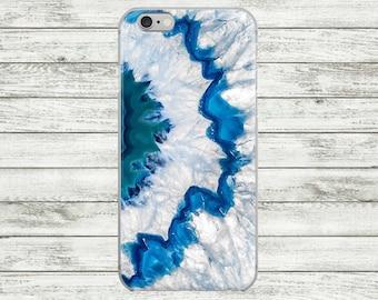 Marble blue iPhone 7 case, iPhone 7 Plus Case, iPhone 6s / 6s Plus Case, iPhone 5s /se /5 Case, Hard plastic or  rubber iPhone case.