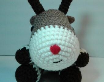 Crochet Reindeer, Amigurumi