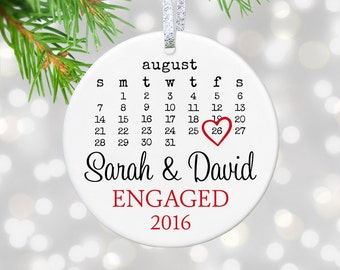 Engagement Gift Engaged Ornament Newly Engaged Couples Gift Engagement Present Bridal Shower Gift Bride To Be Gift Proposal Gift Fiance Gift