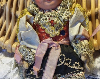Small Unique Greek Type Doll