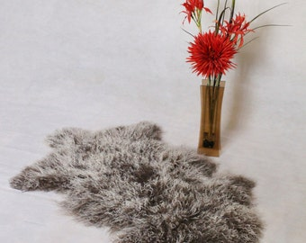 Sheepskin Rug Genuine Tibetan Single Pelt | Chair Cover | Scandinavian Style