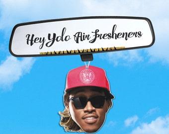 Future Air Freshener- Fresh Scents - Hip Hop Heads - Air Freshener Heads