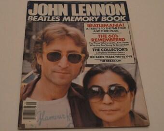 John Lennon Beatles Memory Book