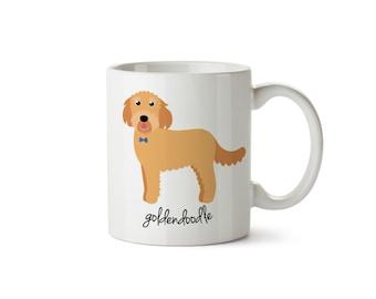 Goldendoodle Mug (boy)