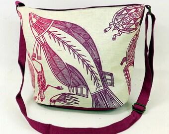 Nancy Bag - Water Spirit Design by Gabriella Maralngurra