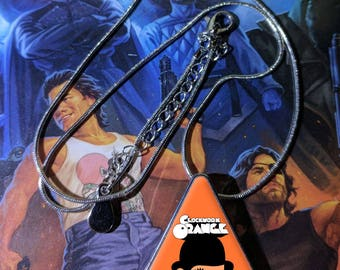 A Clockwork Orange Pendant and necklace