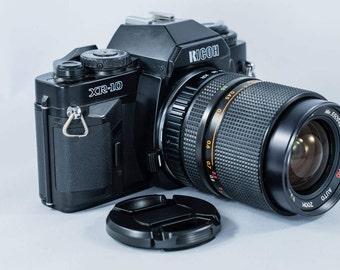 Ricoh XR-10 35mm SLR Film Camera with Rikoh Rikenon MC Auto 35-70 Zoom F3.5 Lens
