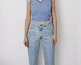 Vintage Levi's 550 Denim Jeans 24.5 | Levis 550 High Waist Denim Jeans | Levis Student Fit Jeans | Levis Orange Tab