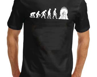 Evolution Of The Iron Throne Mens Game Of Thrones T-shirt