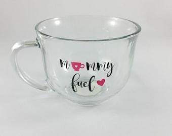 Mommy Fuel Clear 18 oz. Mug