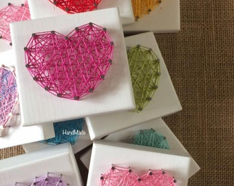 String Art MINI HEARTS