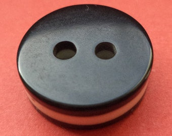 10 buttons 15mm black (467) button