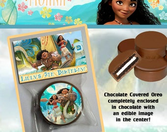 Moana Chocolate Covered Oreo