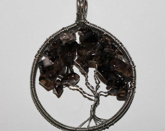 Dark Tree Pendant