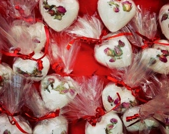 HeartBombs, assorted scents & designs.