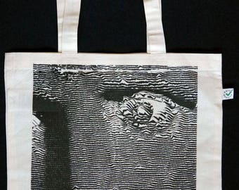 Augustus silkscreen Heavy Shopper Tote