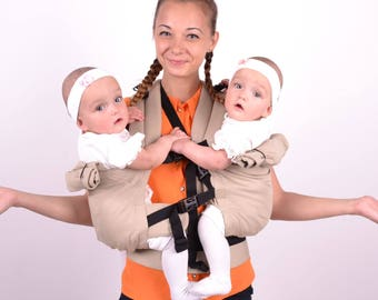 Twins Carrier Tandem, Twin Wrap Carrier, Twin Carrier, Twin Baby Carrier, Baby Twins, Baby Carrier, Twins Carrier