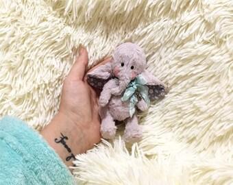 Baby Elephant, Teddy Bear handmade 4,5 Inches FREE Shipping