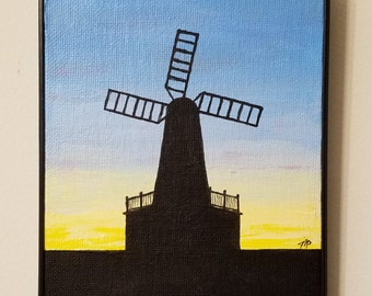 Windmill at Long Branch, NJ 5x7