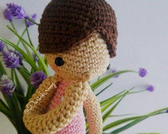 amelie AMOUR FOU//amigurumi doll//handmade//cute