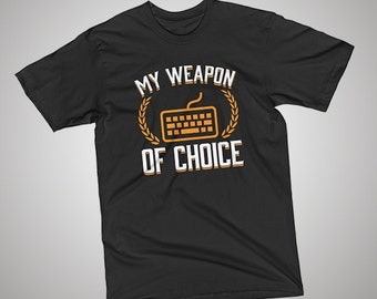 Programmer 2 Weapon of Choice T-Shirt