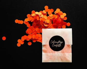 Orange Confetti Tear and Toss Bag (10 pack)