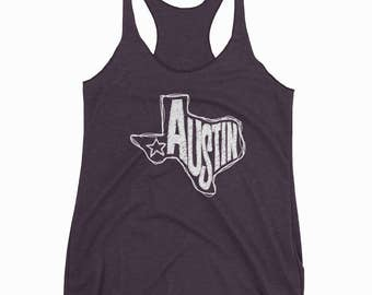 Austin Texas Tank Top, Texas Tank Top, Women's Tank Top, Tank