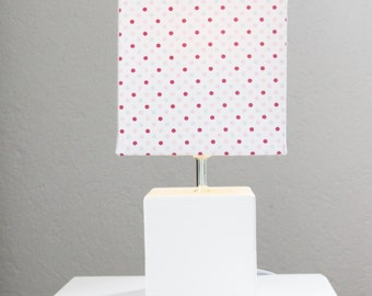 "Table lamp bedside lamp ""Cube Dots"""