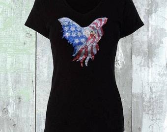 American Eagle Sequins Shirt