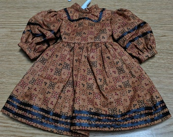 "Civil War Era Dress for 18"" Dolls"