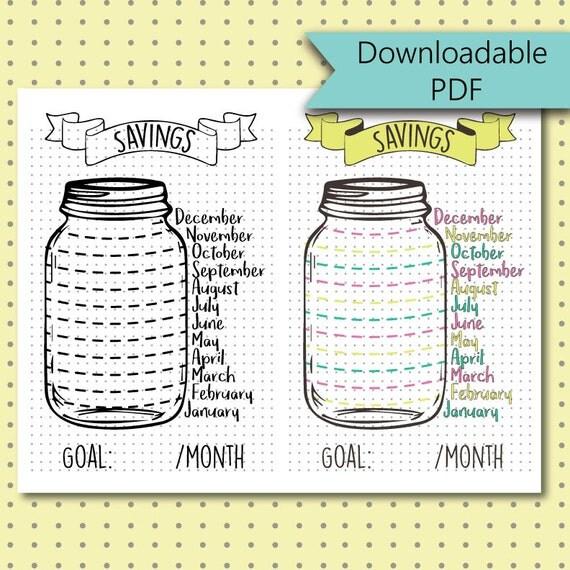 This is a photo of Dynamite Savings Jar Printable