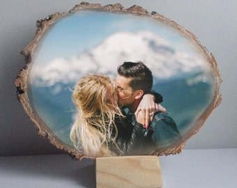 Wedding Present Wedding Photo on Wood Wedding Gift for Couple Wedding Gifts for Parents Wedding Picture Wedding Gifts for Mom Wedding Ideas