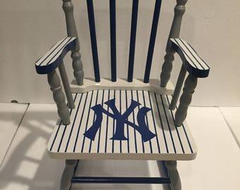 New York Yankees   New York Yankees Rocking Chair   New York Yankees  Nursery   New