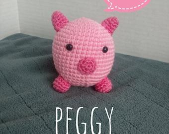 Pretty Pink Pig/Amigurumi