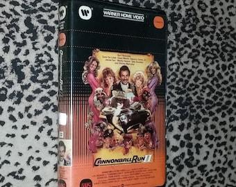 Cannonball Run 2 [VHS] Vintage Campy 80s Warner Home Video vhs Burt Reynolds Dom Deluise Dean Martin Shirley Maclaine Sammy Davis Jr Vhs