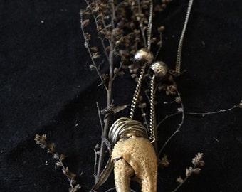 Crawdad Claw Necklace