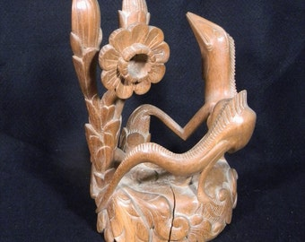 LIZARD WOODCARVING from Bali