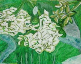 Summers Flowers, Watercolor Painting