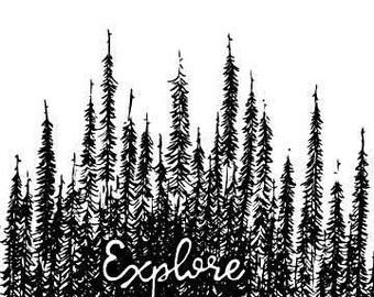 Explore - printable download