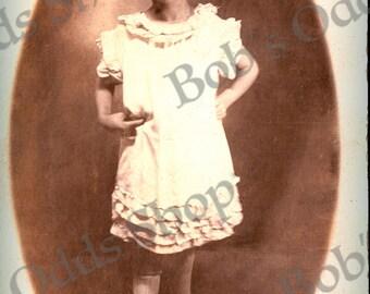 Vintage Photo Instant Download 1920's Girl
