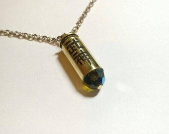 Bushin -- Overwatch Genji inspired 10mm Winchester bullet necklace