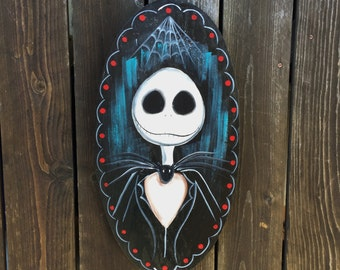 Jack Skellington sign