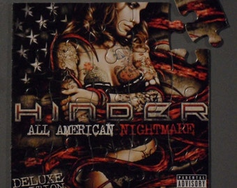 Hinder CD Cover Magnetic Puzzle