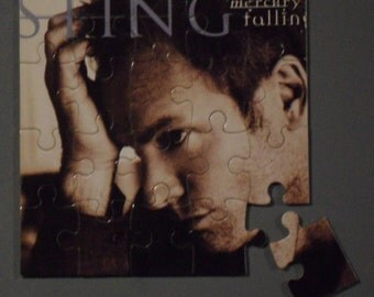 Sting CD Cover Magnetic Puzzle