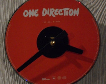 One Direction CD Clock