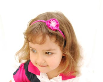 Flower Girl Headband for Toddlers and Babies