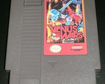 "Venus Wars Back to The City ""IO"" - English Translation hack - NES Nintendo Repro"