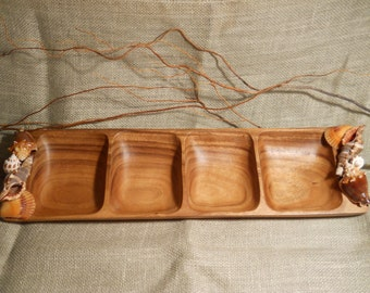 Wooden Buffet Tray