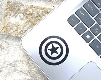 Decal {Captain America shield}-Laptop Decal/Laptop Sticker/Phone decal/Phone sticker/Car Sticker/Car Decal/Window Decal/Window Sticker