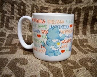 Care Bears Coffee Cup - 1984 American Greetings